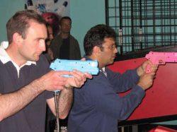 Jon Hand & Ferlin Barnard in shootout!